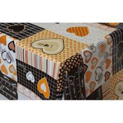 Ubrus PVC FL-619- srdička, metráž