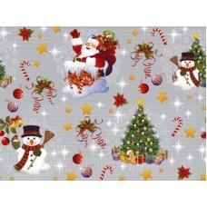 Ubrus PVC Florista FL-1188-02 -  vánoční, 20m