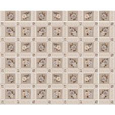 Ubrus PVC Florista  Fl-1325-03 - Růže/kostky, role 20 m