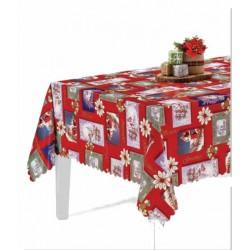 Ubrus PVC FloristaFL-1388-01 -  vánoční, 20m
