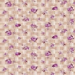 Ubrus PVC Florista  Fl-1490-02 - Květiny/kostky, role 20 m