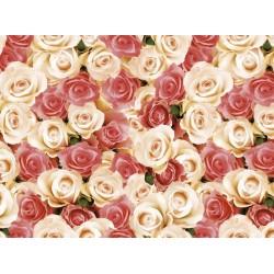 Ubrus PVC Kolorit Kl-536- Růže-135x120cm, kus