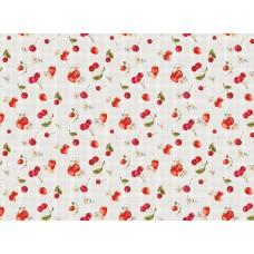 Ubrus PVC  Kolorit  Kl-549-15- třešně a jahody, role 20 m