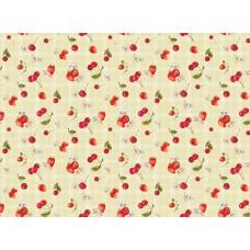 Ubrus PVC  Kolorit  Kl-549-2- třešně a jahody, role 20 m