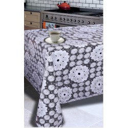 Ubrus PVC Easy Lace- krajkový -100D, role 132cmx22m