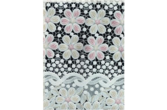 Ubrus PVC Easy Lace- krajkový -118A, role 132cmx22m