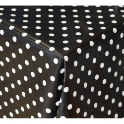 Ubrus PVC Mirella M-069B - puntíky, metráž