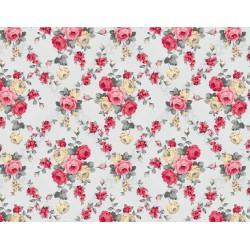 Ubrus PVC Mirella M-095A -  růže, 20 m x140 cm