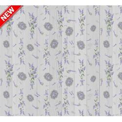 Ubrus PVC Mirella M-107B - Lavender, 20 m x 140 cm