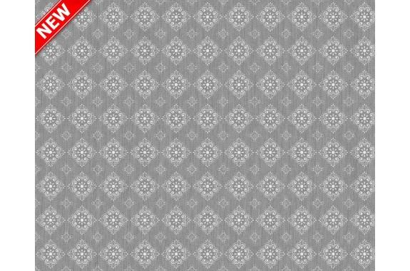 Ubrus PVC Mirella M-112b -  šedý, role 20 m