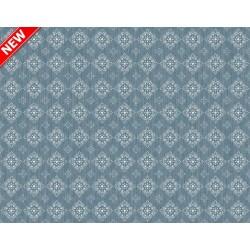 Ubrus PVC Mirella M-112c -  modrošedý, 20 m