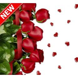 Ubrus PVC Mirella M-116A -  růže, role 20 m