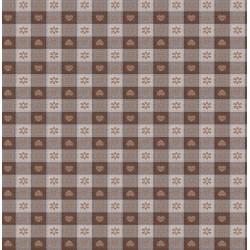 Ubrus PVC Mirella M-132A - zelený, role 20 m