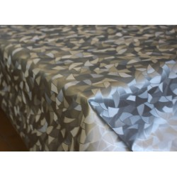 Ubrus PVC Geometrik bronz -2004 - pattern, role 140cmx20m