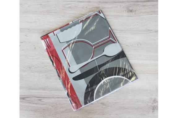 Ubrus PVC Moderno-607 - vínový,  kus