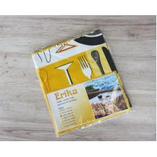 Ubrus PVC Moderno-607 - žlutý,  kus