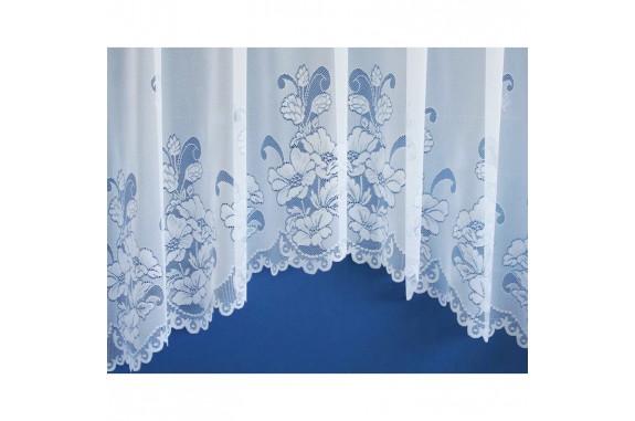 Hotová oblouková žakárová záclona vzor 2007, 160x320cm