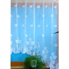 Hotová oblouková žakárová záclona vzor 5610, 165x450cm