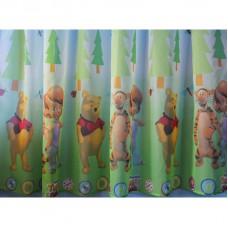 Hotová voálová dětská záclona  Winnie&Tigger, 180x230cm
