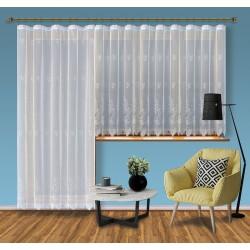 Hotová žakárová záclona Viktoria /Okno+balkon/ vzor 2072-2 + dárek