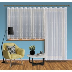 Hotová žakárová záclona Viktoria / vzor 2072, 250x200 cm