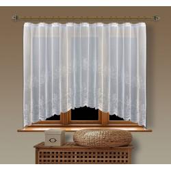 Hotová oblouková žakárová záclona  Viktoria/ vzor 2211, 160x350cm