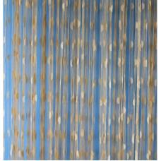 Provázková záclona Ambiance -18-gold, výška 180 cm
