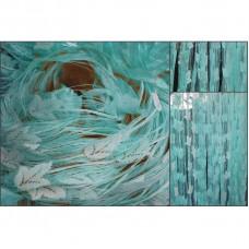 Provázková záclona Ambiance -16-tyrkysová, výška 180 cm