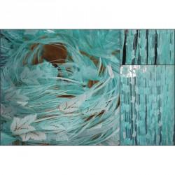 Provázková záclona Ambiance -16-tyrkysová, výška 240 cm