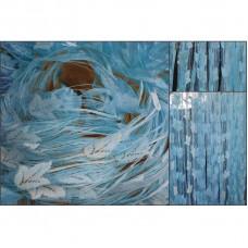 Provázková záclona Ambiance -16-modrá, výška 240 cm