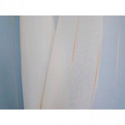 Voálová záclona smetanová  3025, výška 150cm, metráž