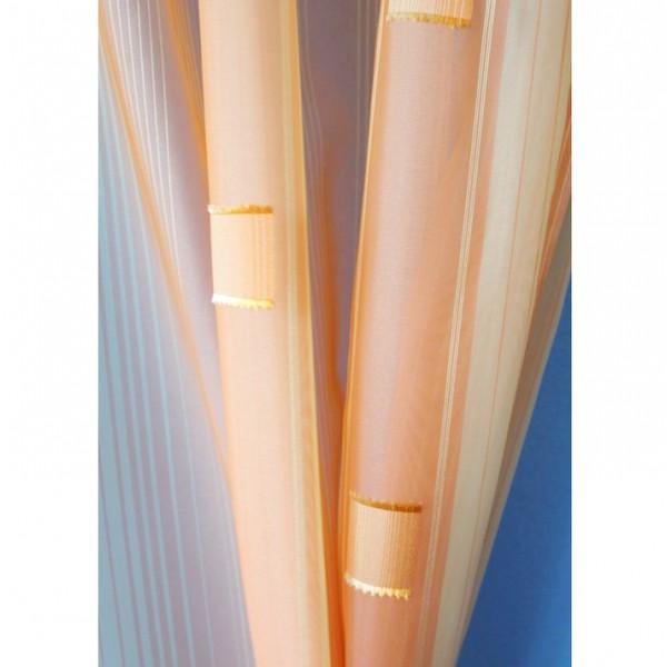 9a0b81b71590 Voálová záclona N0167-07 světle žlutá  meruňková