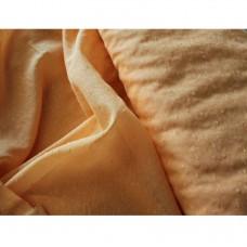 Voálová záclona N040 - oranžová, výška 300cm, metráž