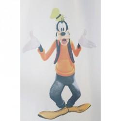 Dětská voálová záclona  Disney -  Goofy, metráž