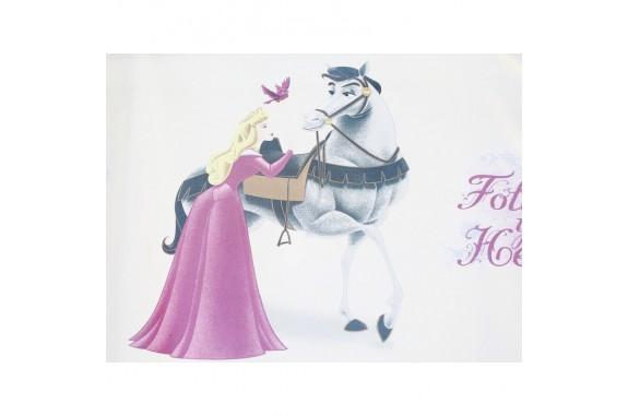 Dětská voálová záclona  Disney -  Princess, metráž