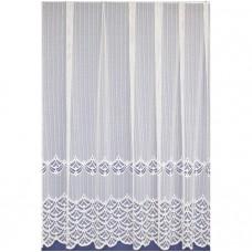 Záclona 313 bílá, výška 160 cm, metráž