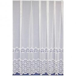 Záclona žakárová 313 bílá, výška 180 cm, metráž