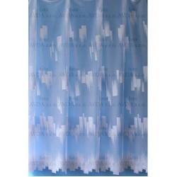 Záclona žakárová 7529 bílá, výška 250 cm, metráž