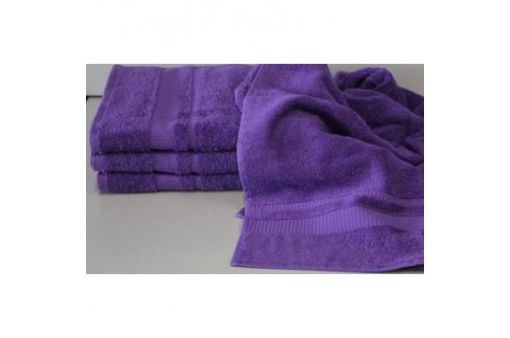 Ručník Froté -  fialový, 50x100 cm