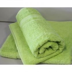 Osuška Froté - zelená, 70x140 cm