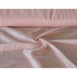 Záclona  Siťovaná -  3000 / růžová , metráž