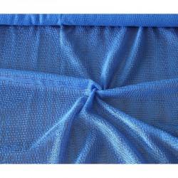 Záclona  Siťovaná -  3000 /modrá , metráž