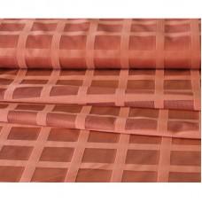 Záclona  mřížka -  3061 / cihlová , metráž