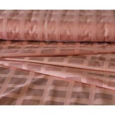 Záclona  mřížka-  3061 /světle lososová, metráž