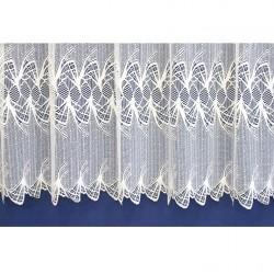 Záclona  319 bílá, výška 180 cm, metráž