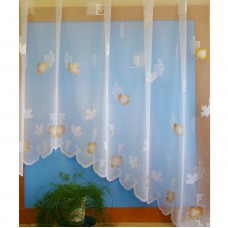 Hotová oblouková žakárová záclona vzor 18568, 160x320cm