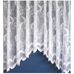 Hotová oblouková žakárová záclona vzor 4124, 160x320cm