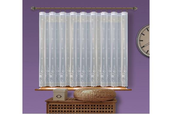 Hotová  žakárová záclona  Viktoria/ vzor 8227, 160x400cm