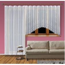 Hotová záclona Viktoria /Okno+balkon/ vzor 2072