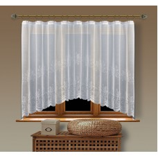 Hotová oblouková záclona  Viktoria/ vzor 2211, 160x350cm